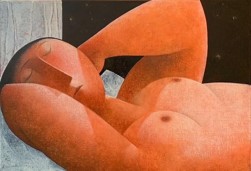 Peter Harskamp - Slapende vrouw