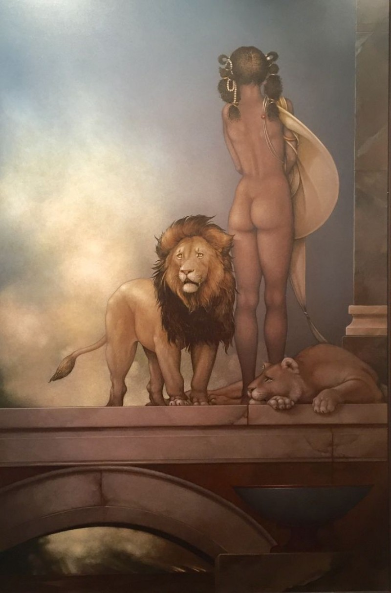 Michael Parkes - Spirit of Africa