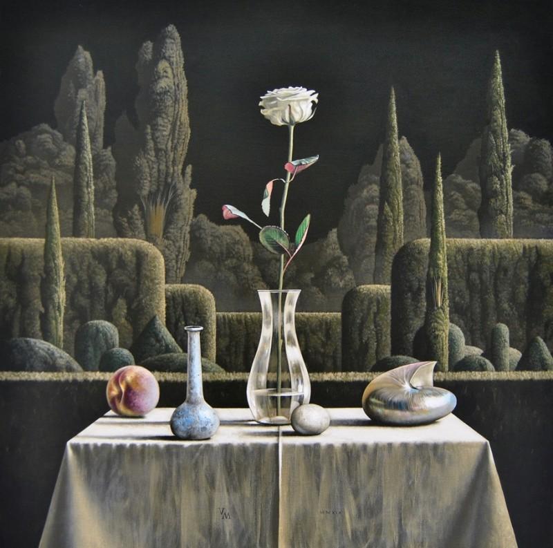 Victor Muller - Stilleven met nautilusschelp