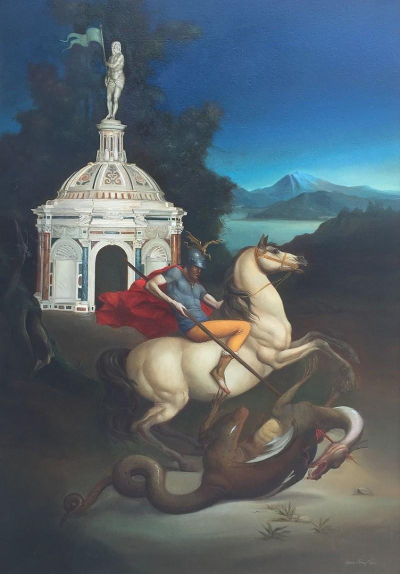 Giovanni Tommasi Ferroni - St. Giorgio e il Drago (T192)