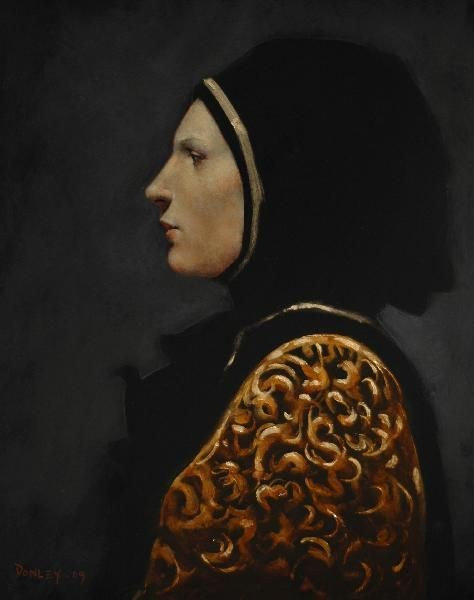 Ray Donley - Figure in Profile
