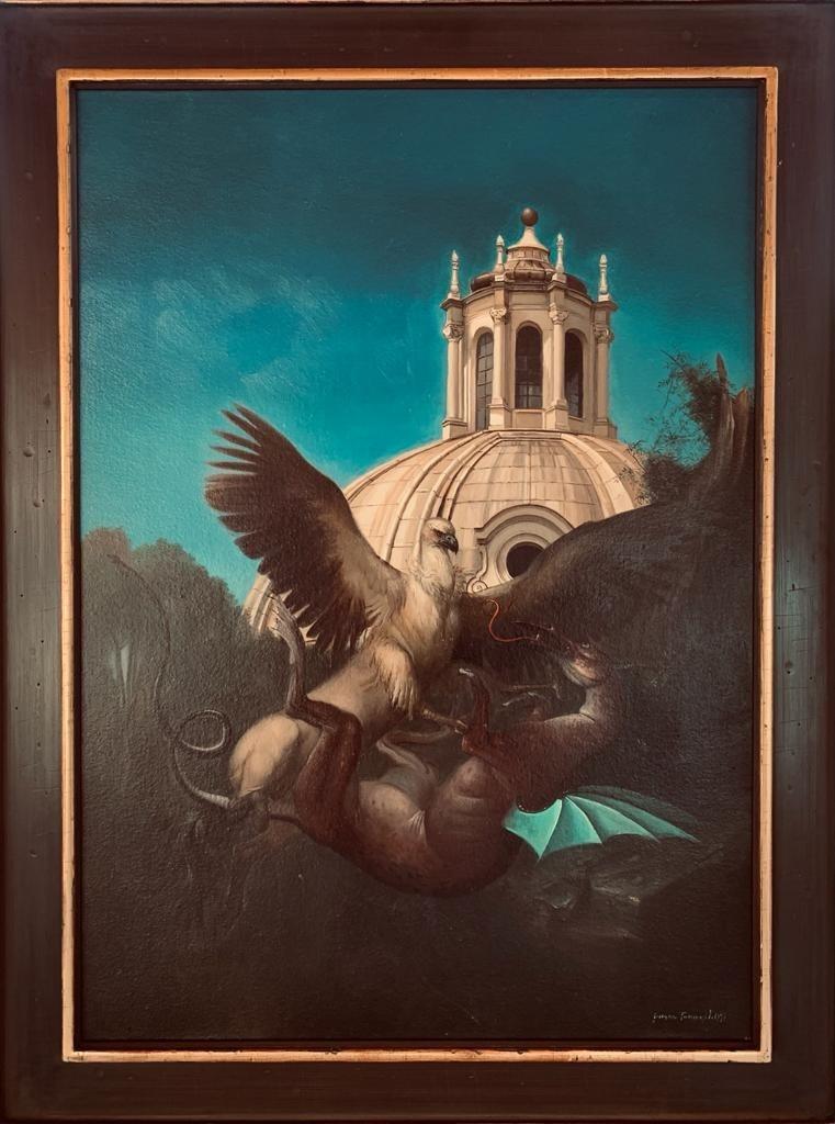Giovanni Tommasi Ferroni - K'Ippogrifo e il drago
