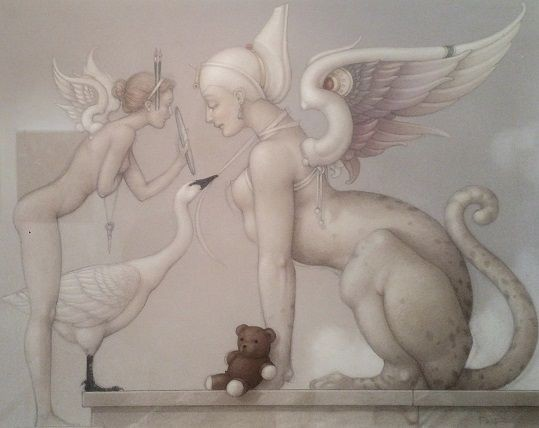 Michael Parkes - Sfinx
