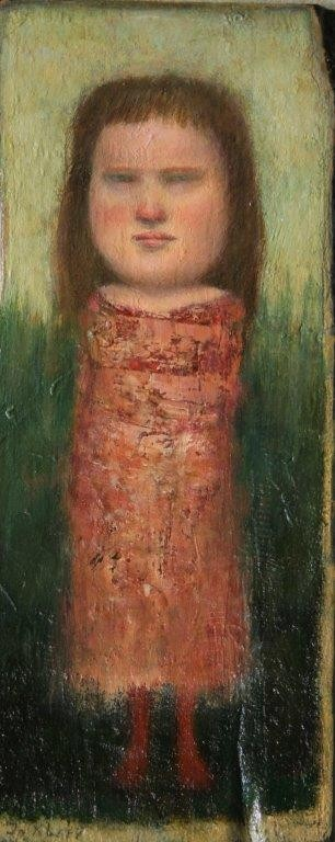 José van Kleef - Staand meisje