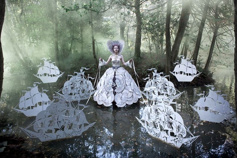 Kirsty Mitchell - The Queens Armada