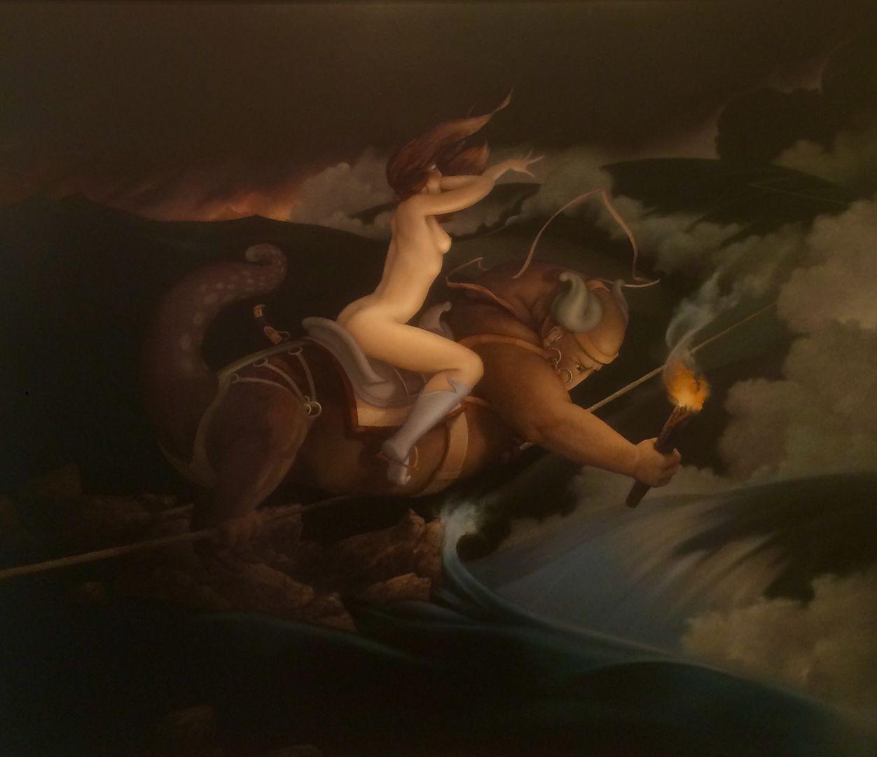 Michael Parkes - Taut Rope
