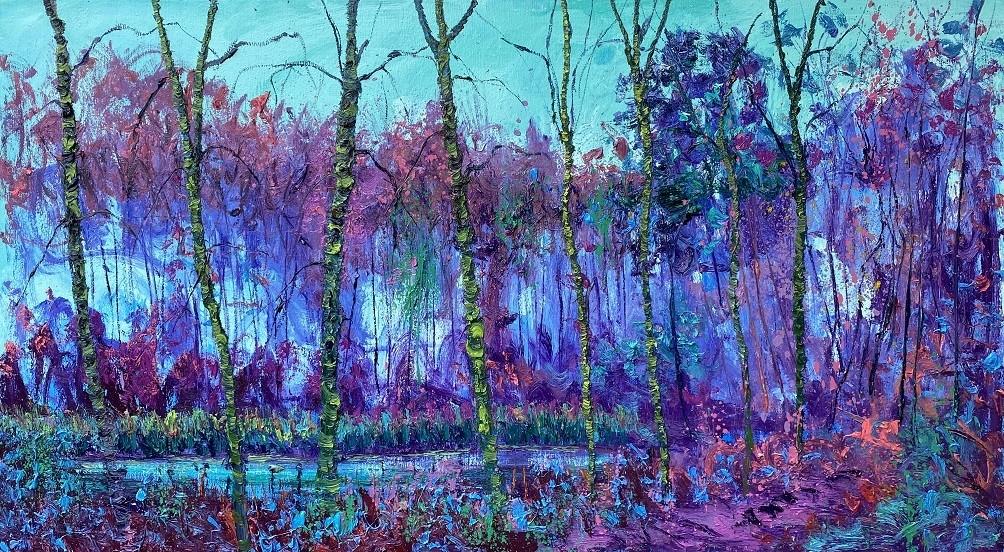 Gertjan Scholte-Albers | Blue pond