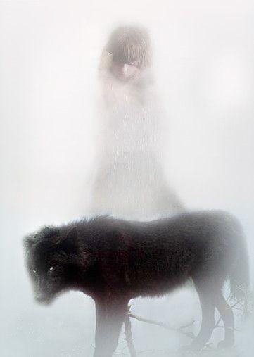 Barbara de Vries - Dreamtime / Meisje met Wolf
