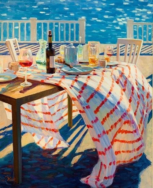 Juane Xue - Aan de kust
