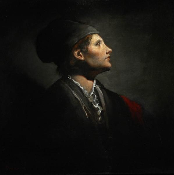 Ray Donley   Figure with black beret