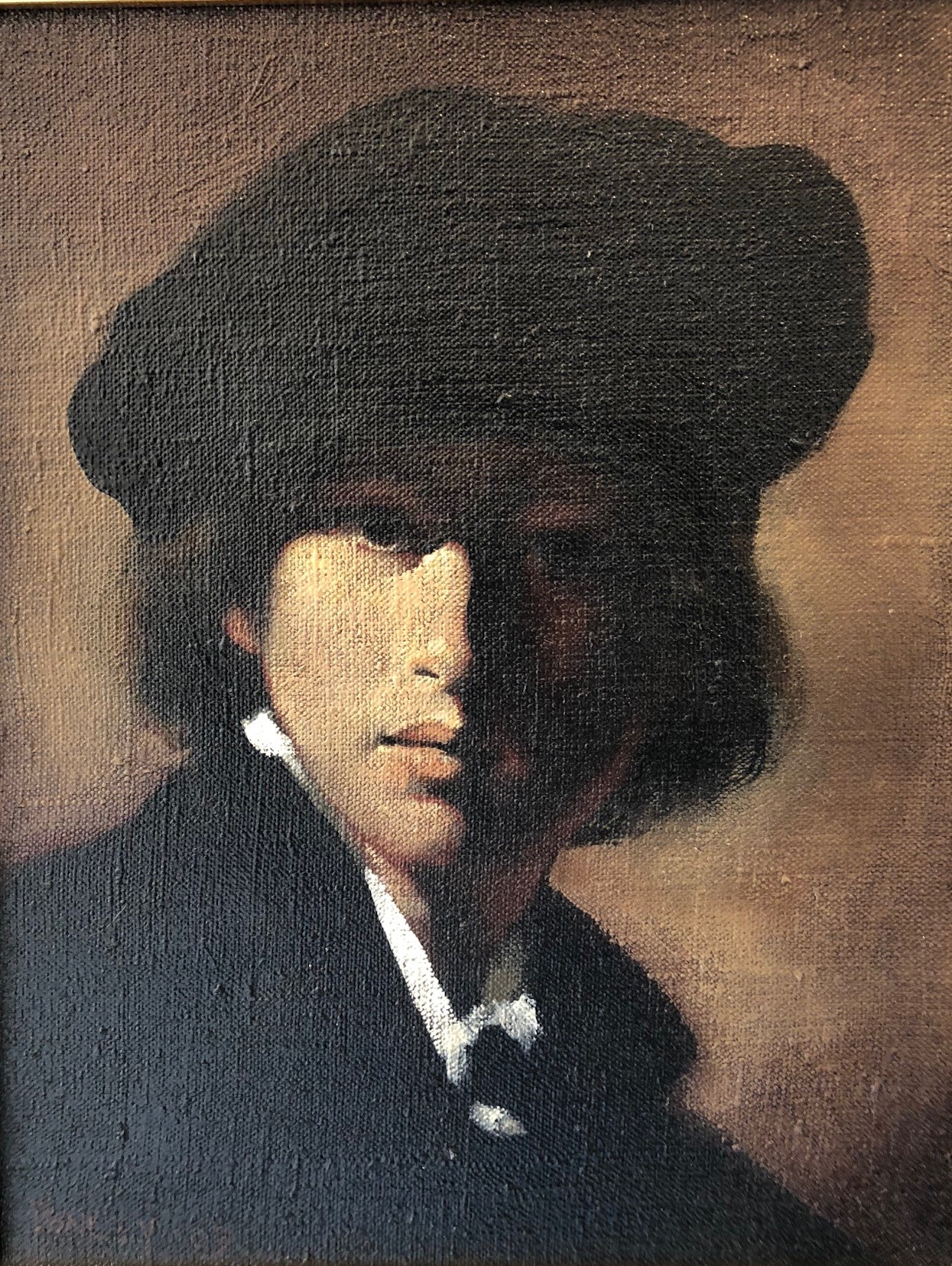 Ray Donley - Figure with black cap