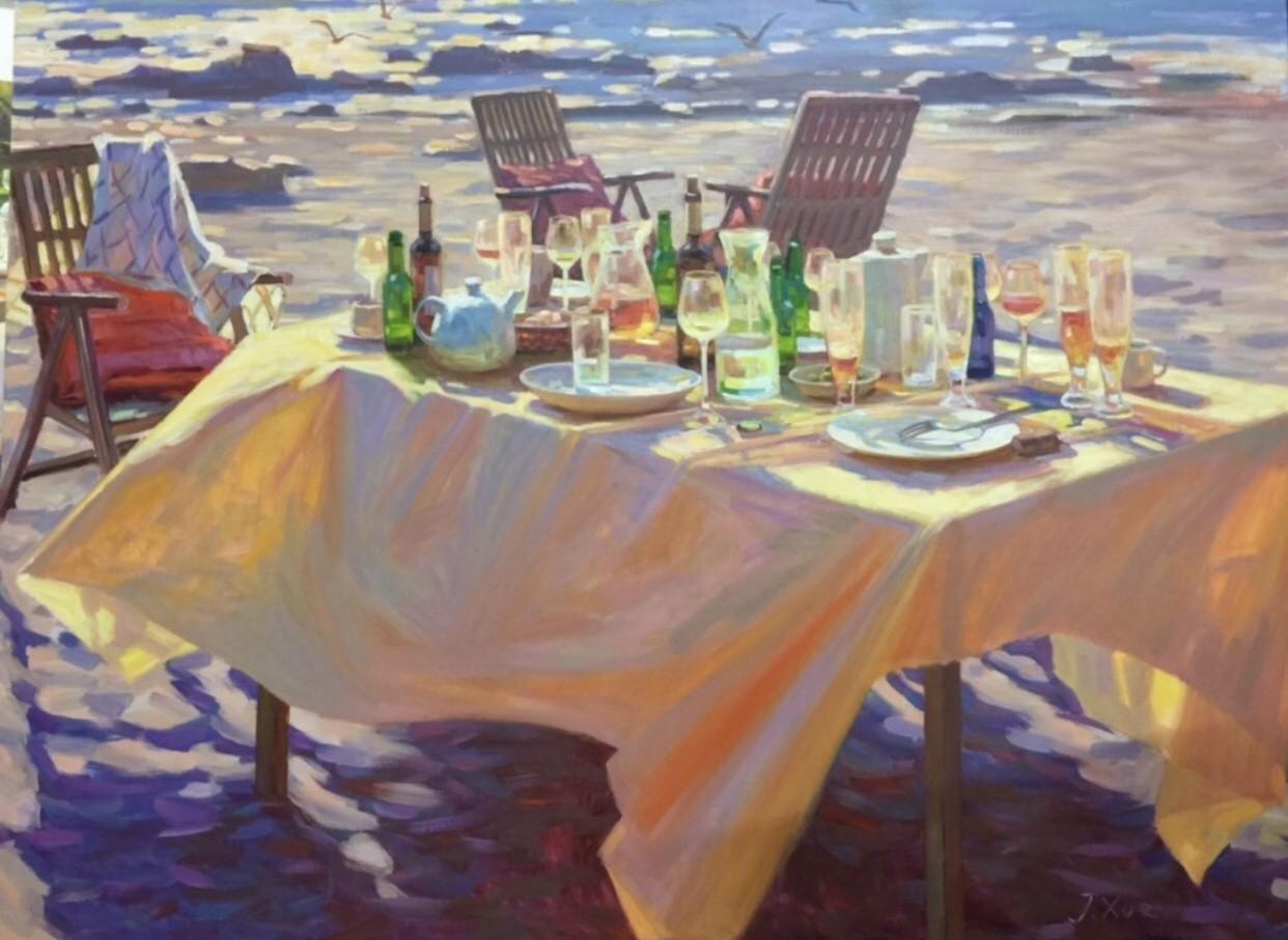 Juane Xue   Gouden zee
