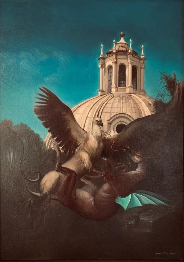 Giovanni Tommasi Ferroni | K'Ippogrifo e il drago