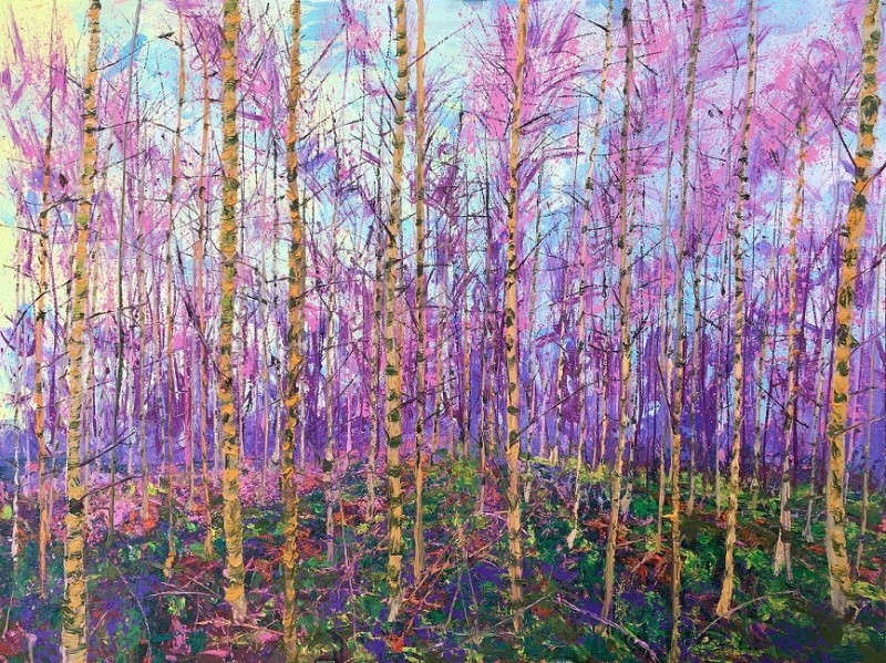 Gertjan Scholte-Albers - Space Birches