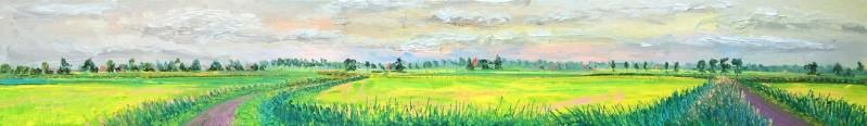Gertjan Scholte-Albers - Gemaaid oranje lucht