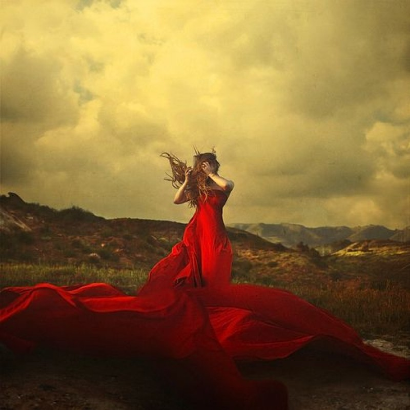 Brooke Shaden - A storm to move mountains