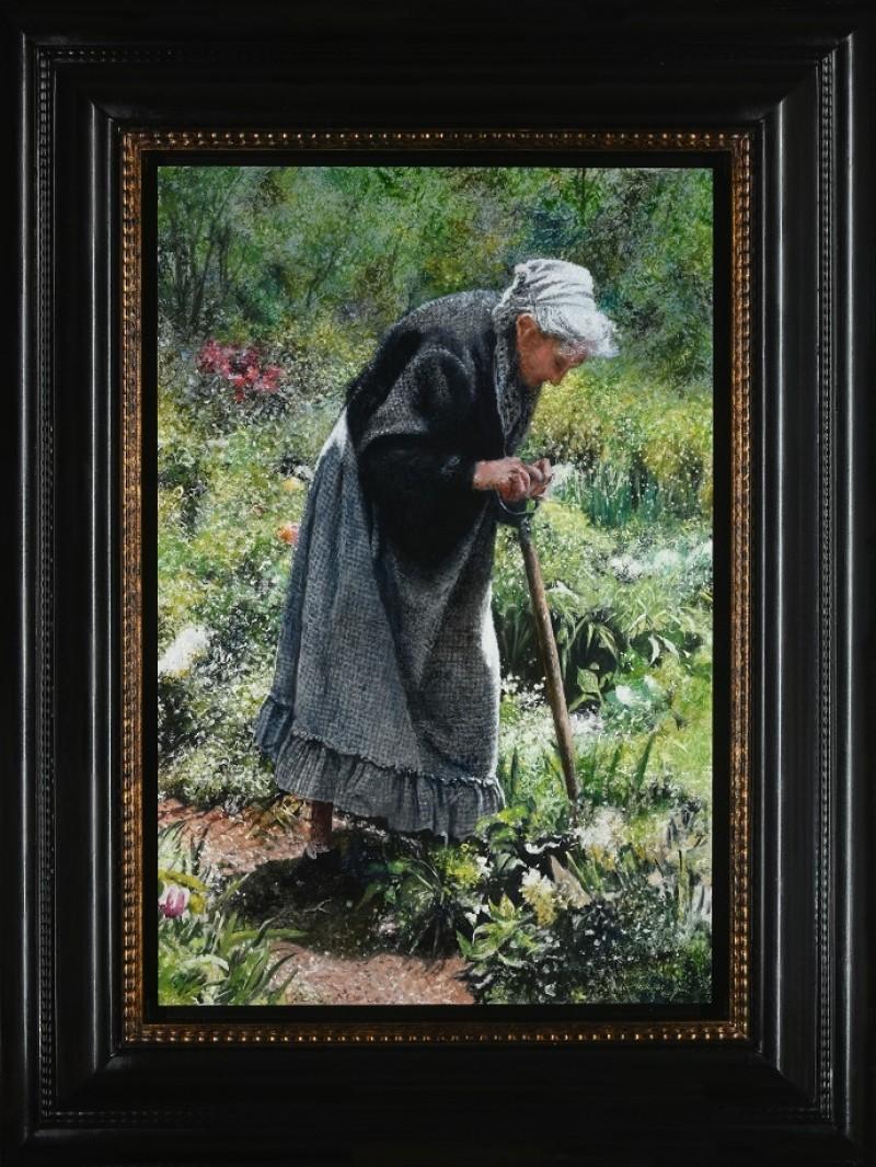 Walter Elst - De oude tuinierster