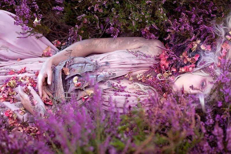 Kirsty Mitchell - Gammelyns Daughter a Waking Dream