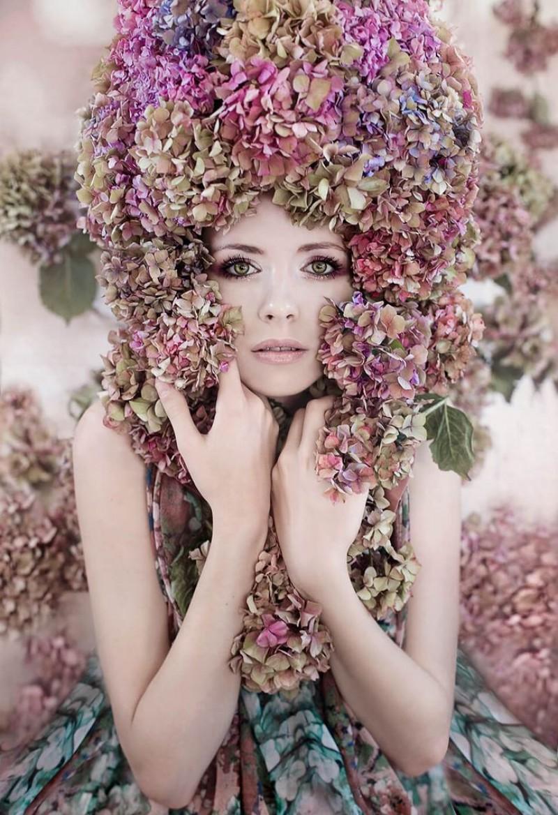 Kirsty Mitchell - Hydrangea Girl