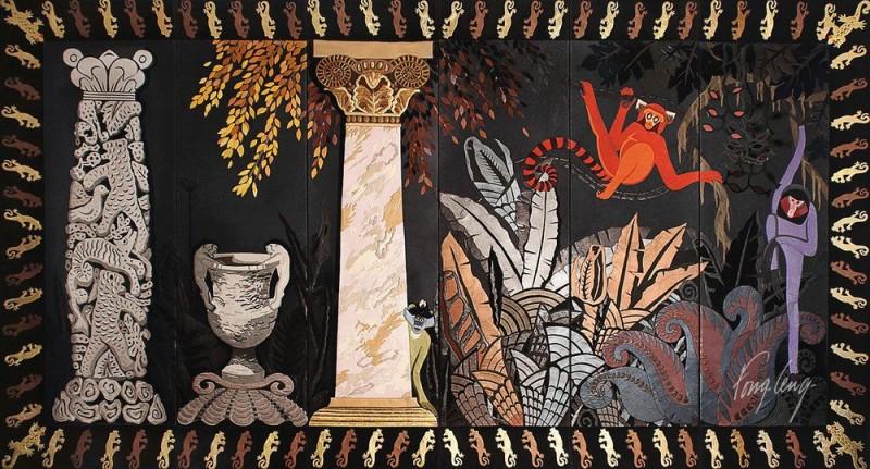 Fong Leng - Jungle (6 panels)