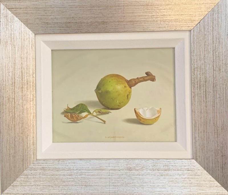 Gerrit Wijngaarden - Kastanje in bolster met blad