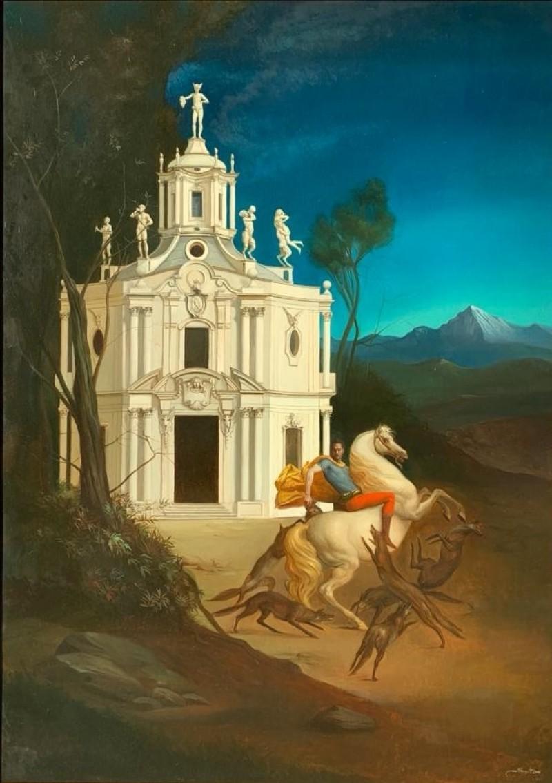 Giovanni Tommasi Ferroni - L'Ora tra Cane e Lupo