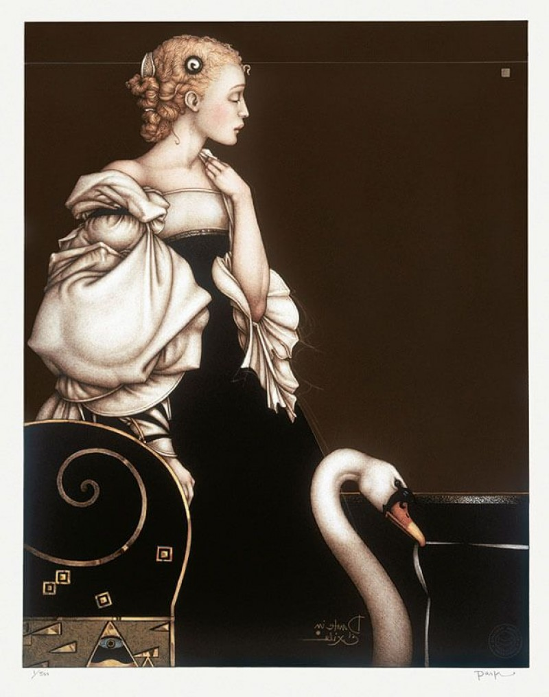 Michael Parkes - Beatrice alone