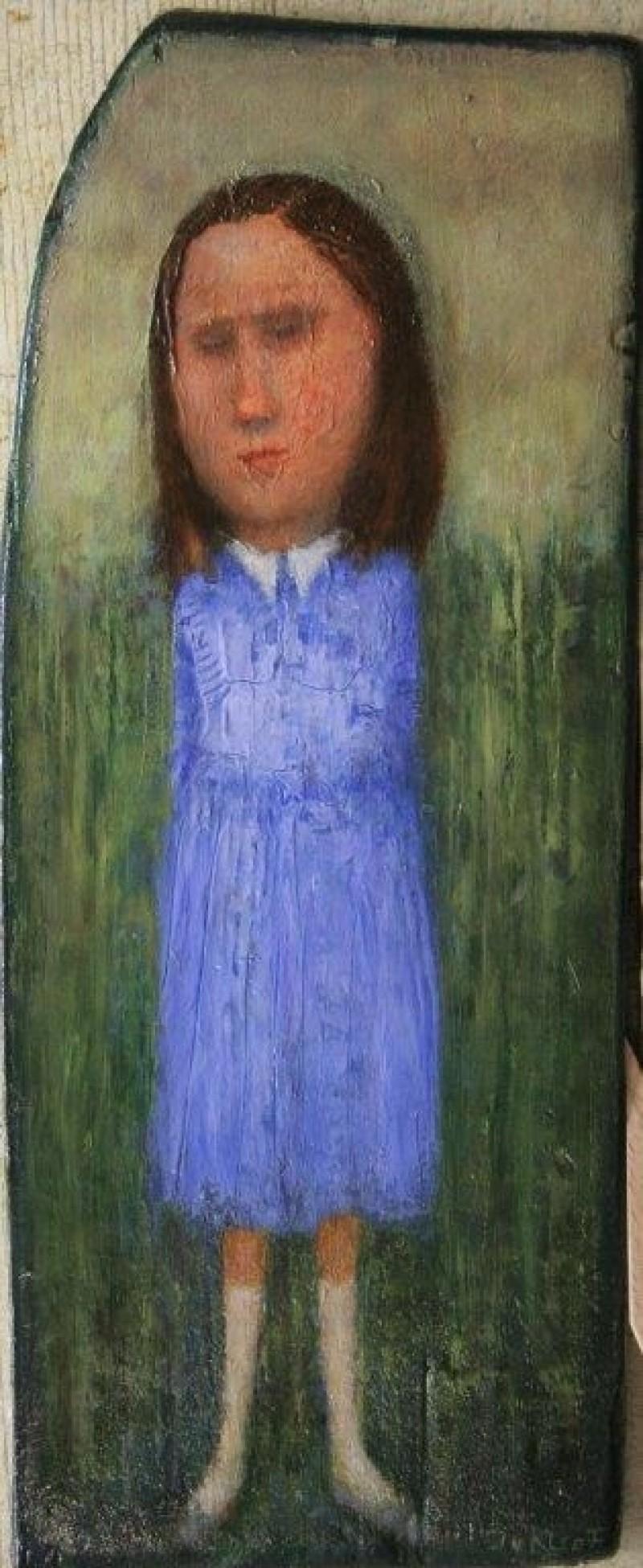 José van Kleef - Meisje met blauwe jurk
