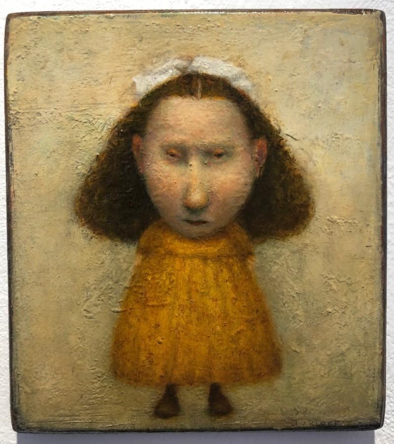 José van Kleef - Meisje met witte strik