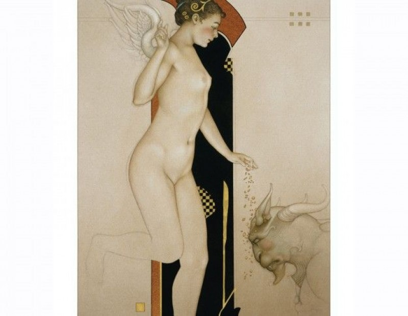 Michael Parkes - Angel Dust