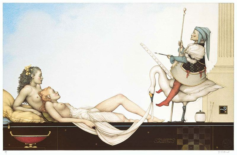 Michael Parkes - The Court Painter