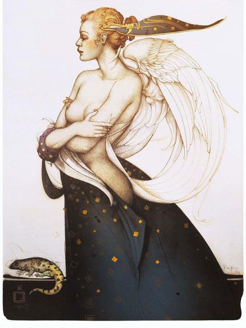 Michael Parkes - Golden Salamander