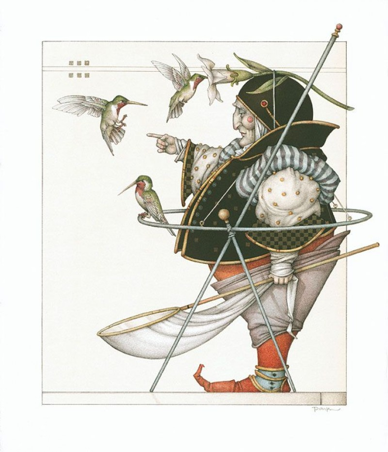 Michael Parkes - The Hummingbird Collector
