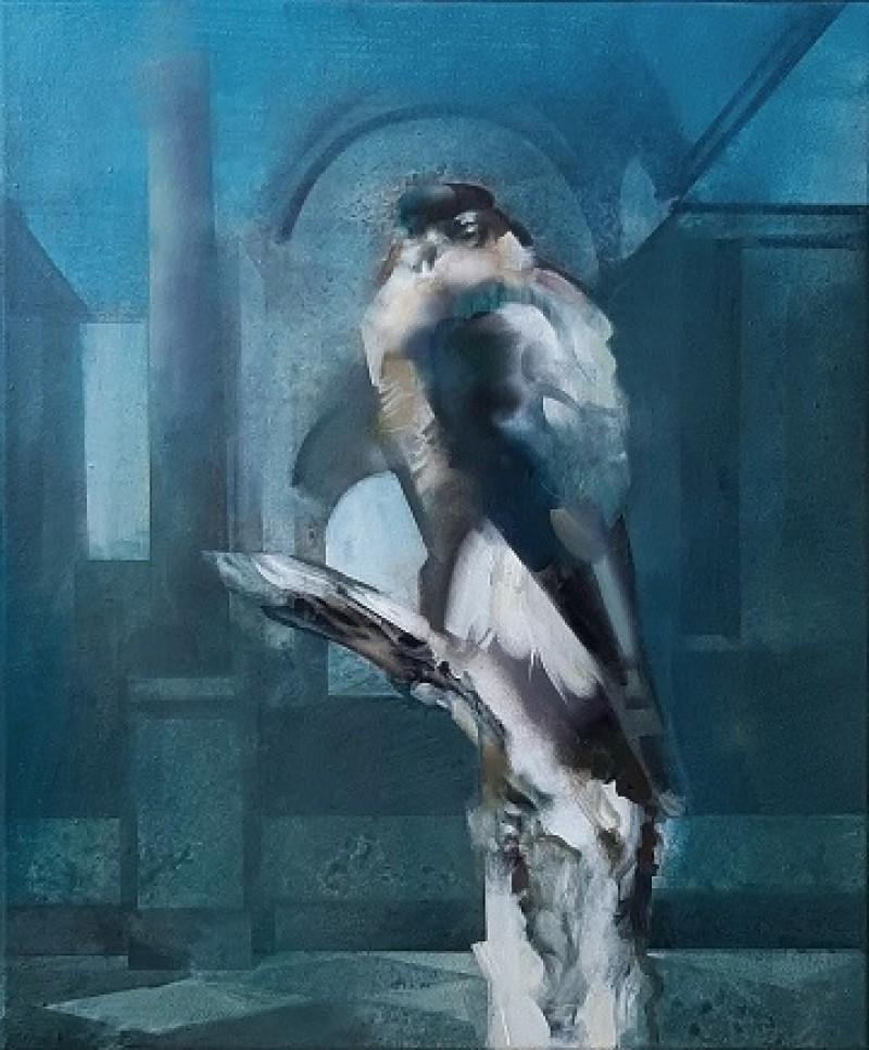 Martin Koole - Sperwer in de galerij