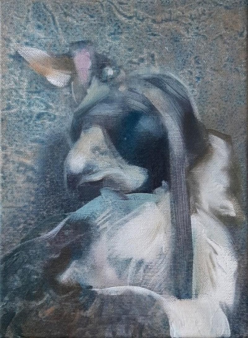 Martin Koole - Valk met huif