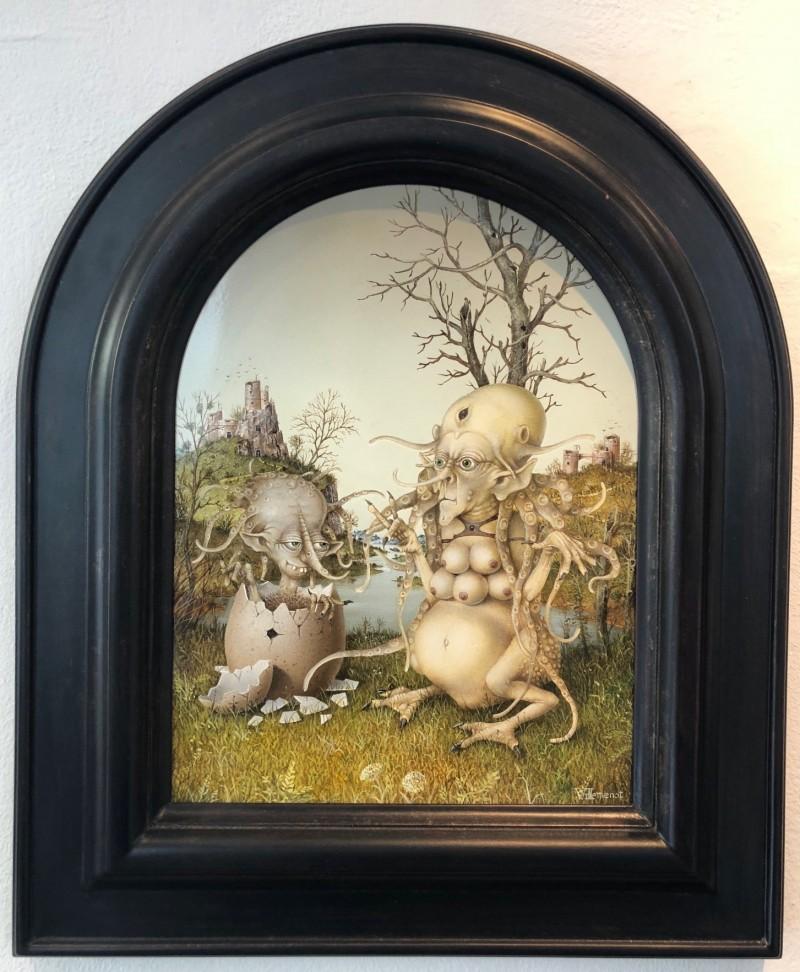 Gérard Willemenot - Nativite, La Gorgone et le Gorgon