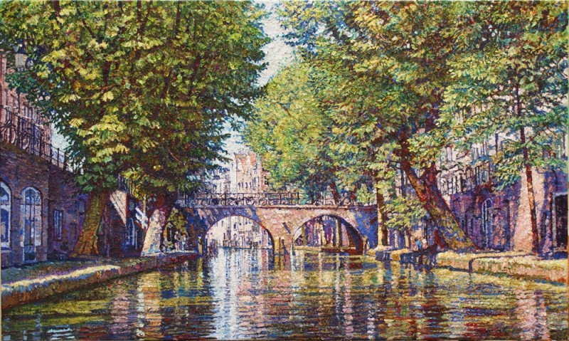 Willem van der Hofstede - Oudegracht met Gaardbrug IV