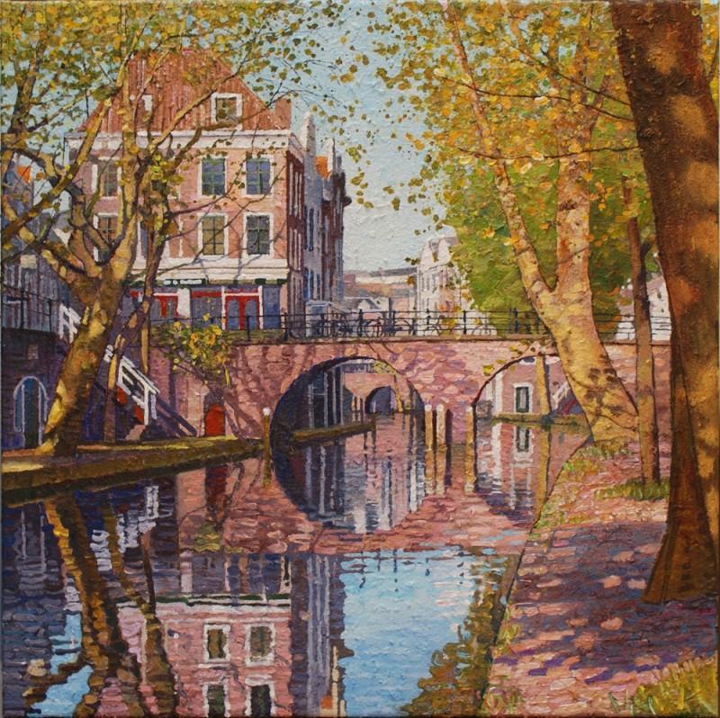 Willem van der Hofstede - Oudegracht met Gaardbrug V