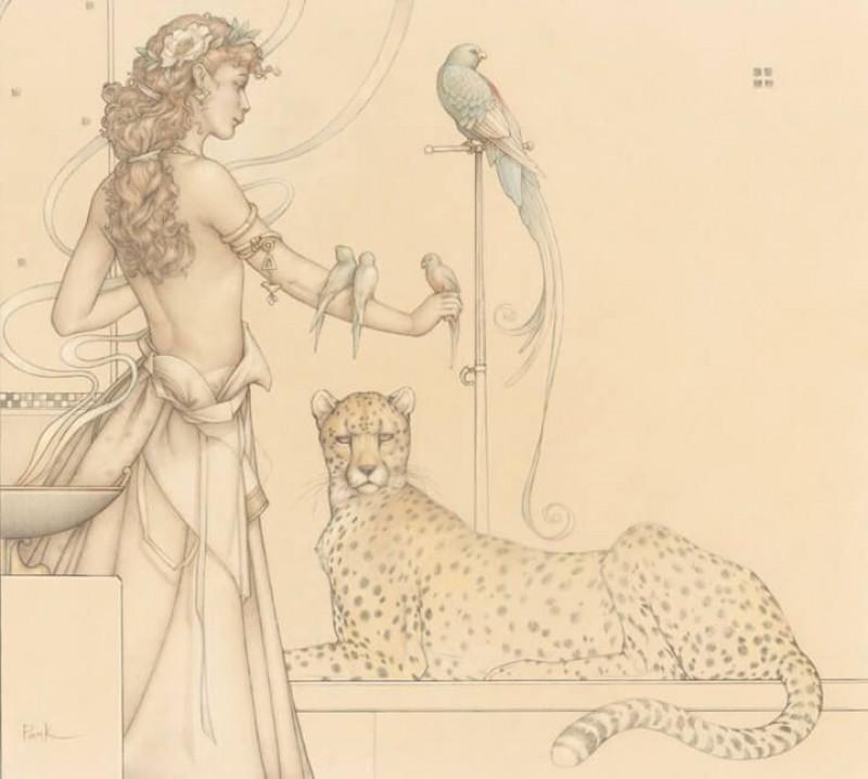 Michael Parkes - Quetzal
