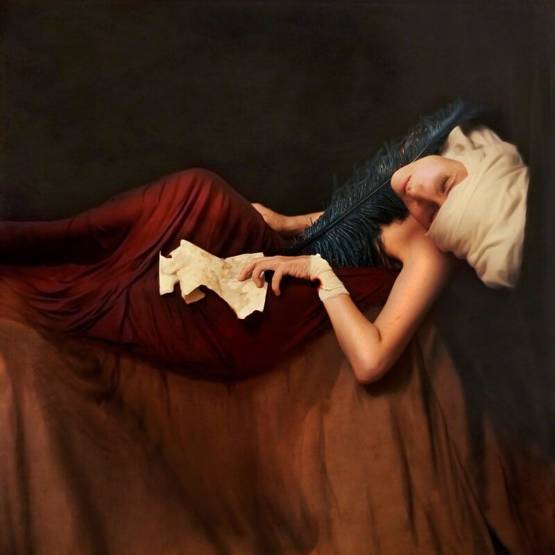 Brooke Shaden - Decorating the stage