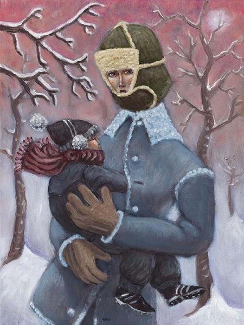 Frans Franciscus - Wintermadonna