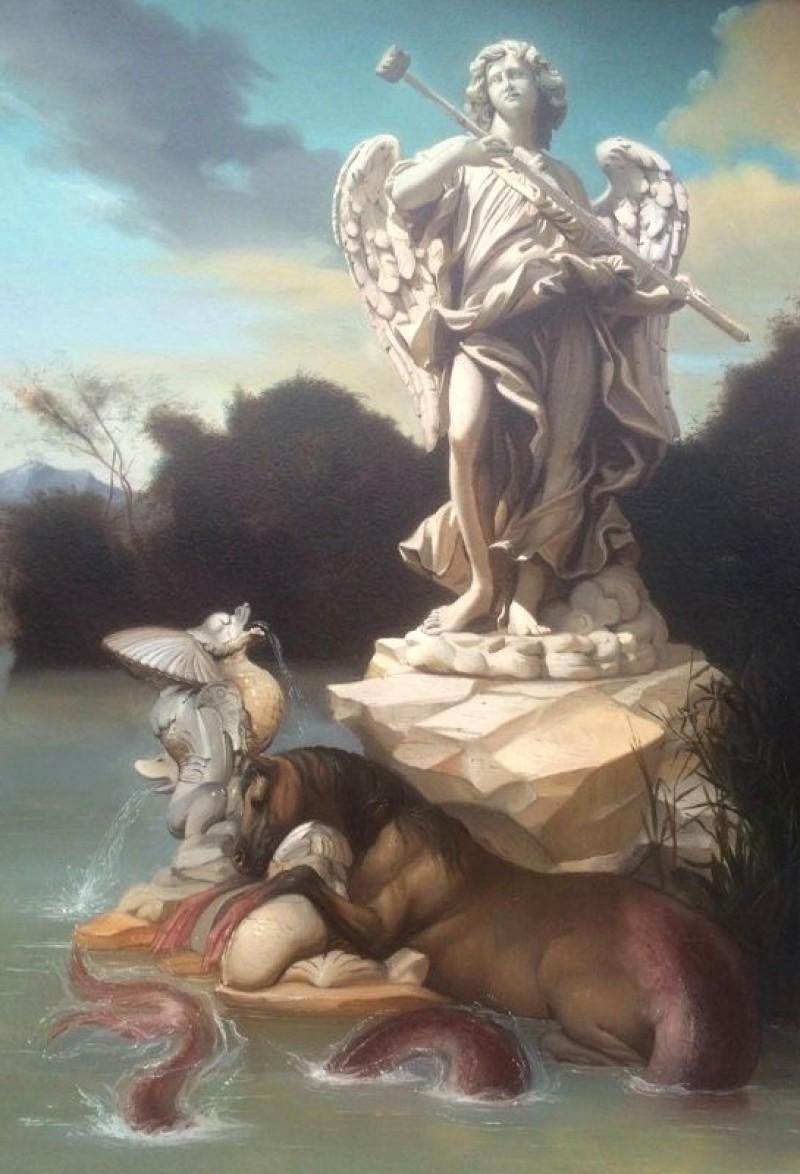 Giovanni Tommasi Ferroni - Tritone e Nettuno