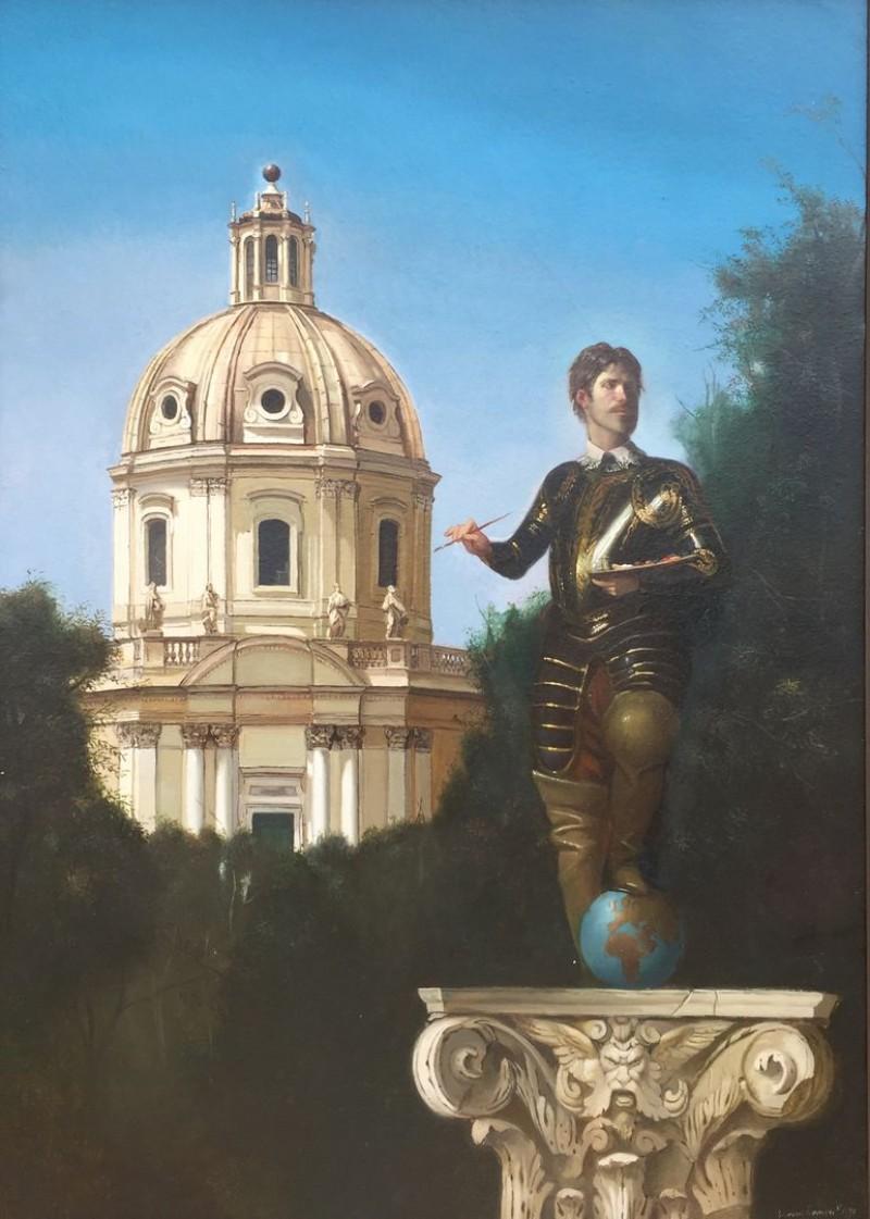Giovanni Tommasi Ferroni - Autoritrato (T126)