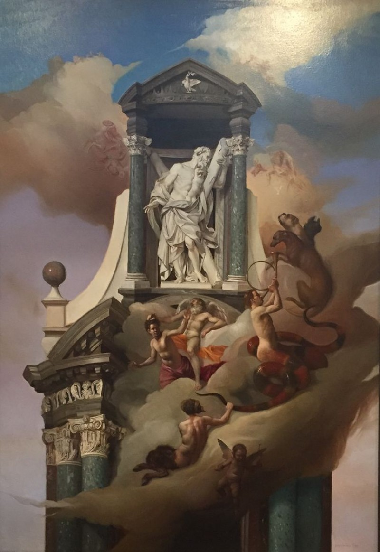 Giovanni Tommasi Ferroni - Allegoria Lataranense (T171)