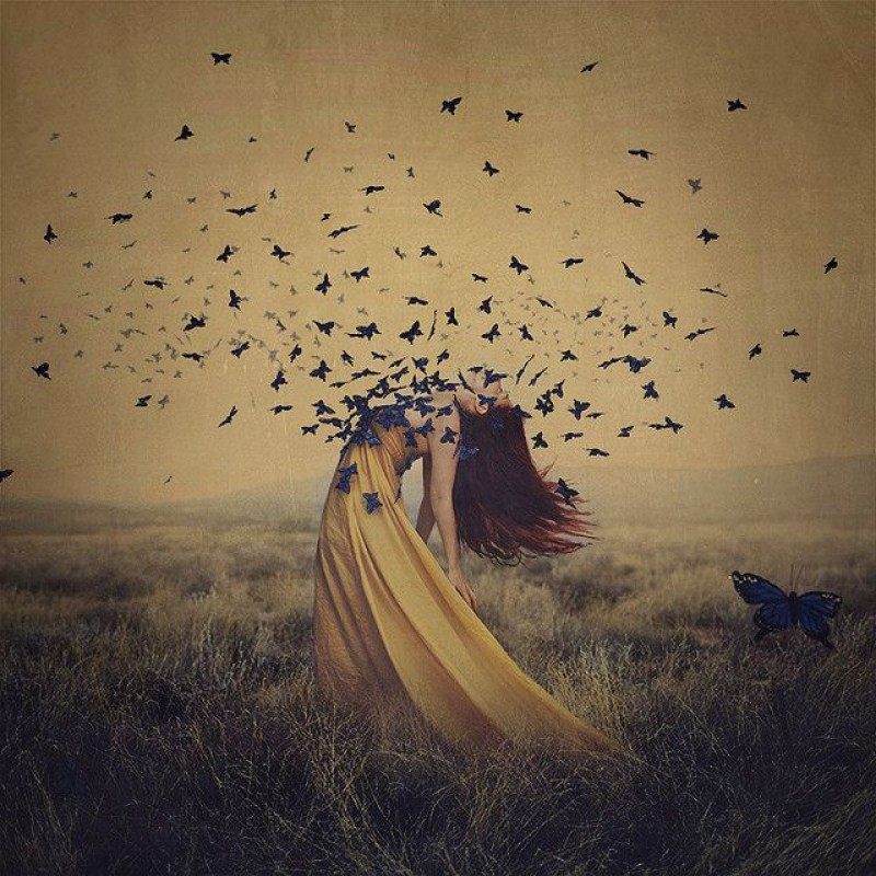 Brooke Shaden - The sound of flying souls II