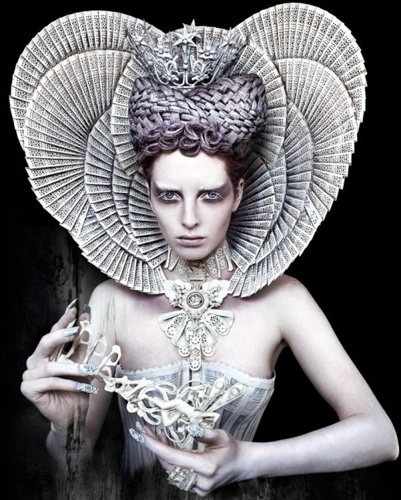 Kirsty Mitchell - The White Queen
