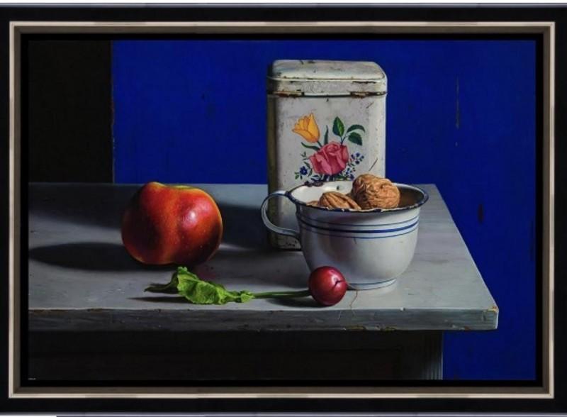 Herman Tulp - Stilleven met blauw