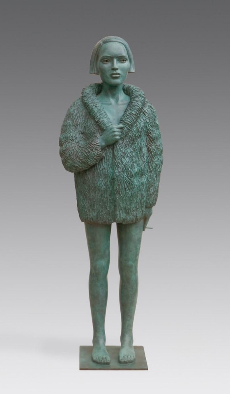 Erwin Meijer - Vrouw met bontjas