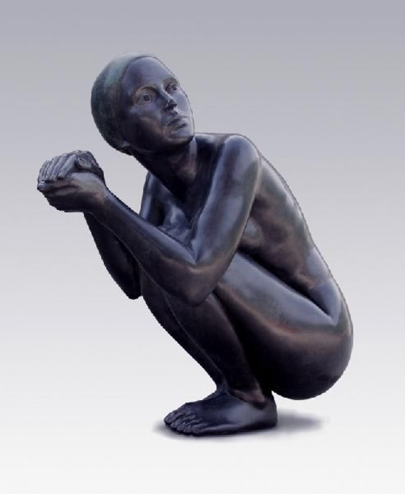Erwin Meijer - Vrouw met badmuts