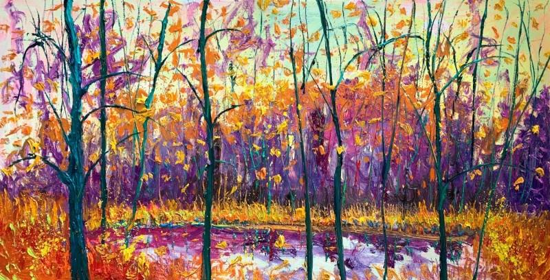 Gertjan Scholte-Albers - Yellow Viridian Pond